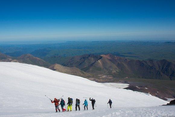 Наша группа, высота 4700