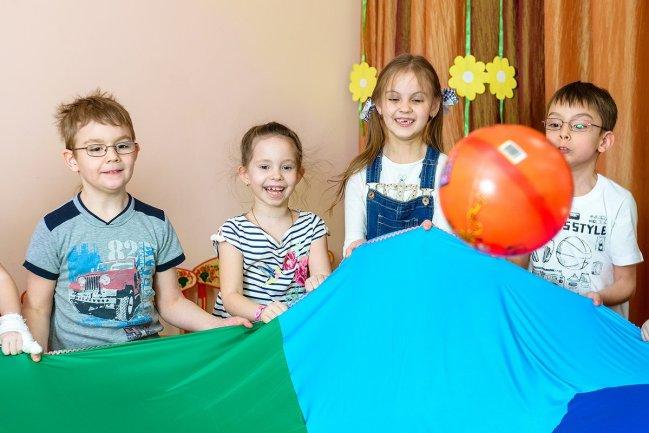 Игровая фотосессия в детском саду