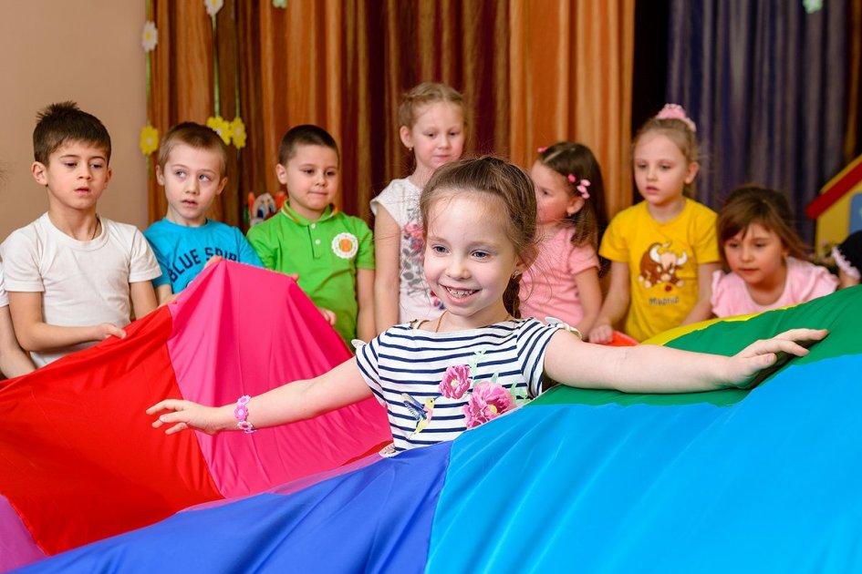 Фото детей в детском саду СПб