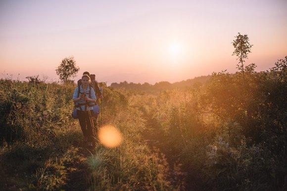 Восход в окрестностях Тхача