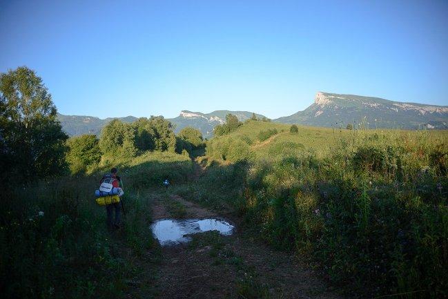 Дорога по Баронову урочищу