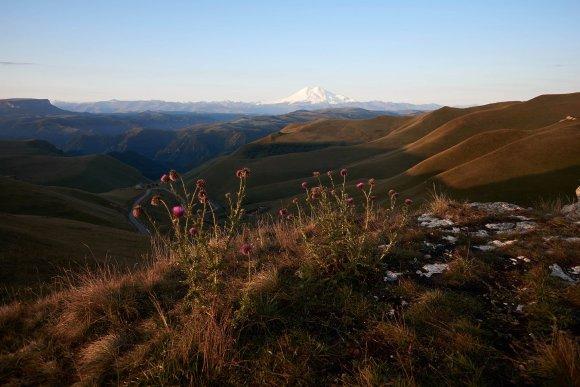 Раннее утро на плато Шаджатмаз