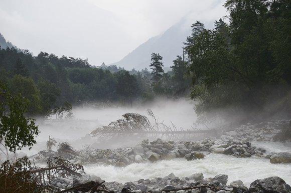 Река Цей парит