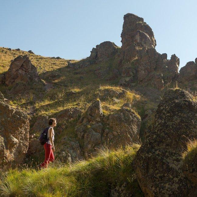 Скалы в Джилы-Су