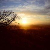 Закат над Пятигорском - гора Горячая