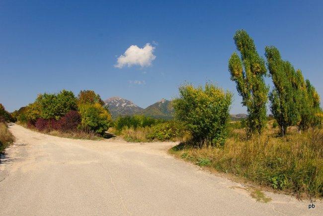 Осенняя дорога на Бештау