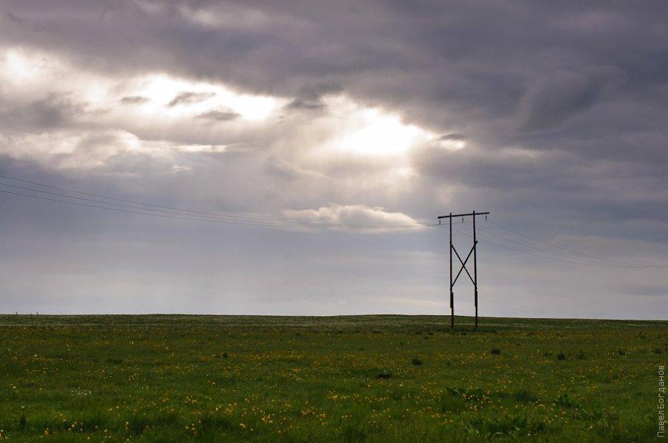 Просвет в облаках на Бермамыте
