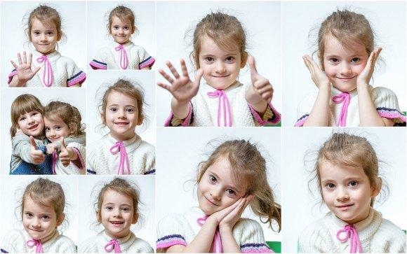 Портретная фотосессия в детском саду
