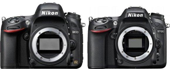 Размеры матриц и байонетов Nikon