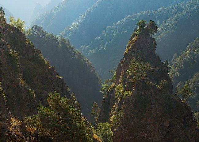 Горы по пути в Джилы-Су