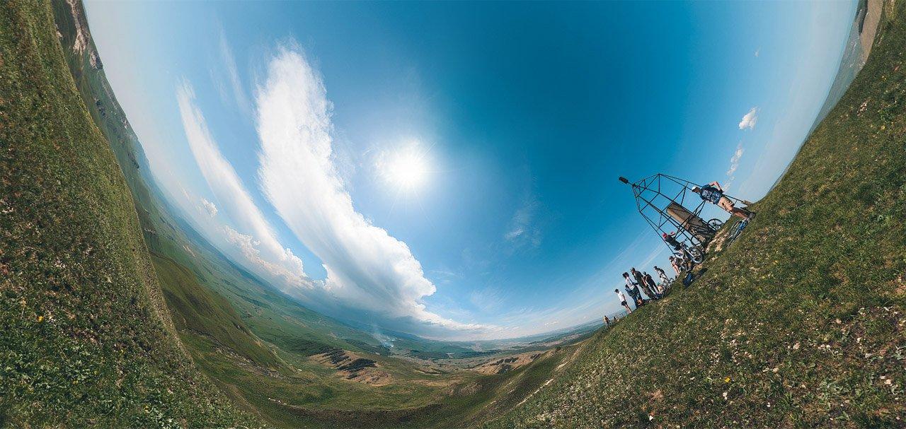 Панорама Джинала