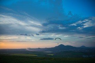 Вид на Пятигорск с Юцы - купить фото
