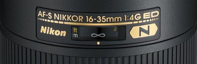 Обозначения на объективах Nikon