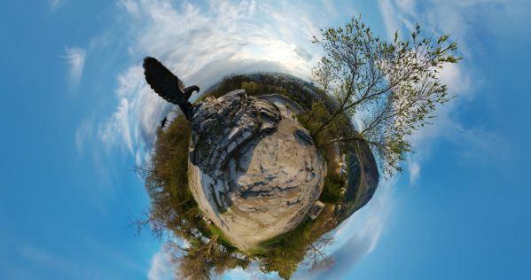 Маленькая планета - пятигорский орел