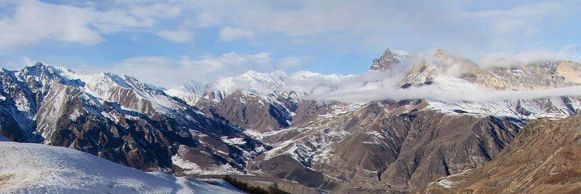 Вид с перевала Северный Курноят