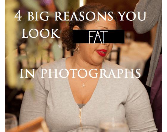 Почему вы выглядите толстыми на фото