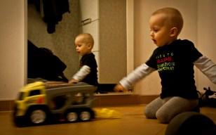Tobík a náklaďák.. (Plzeňˆ | květen 2012)