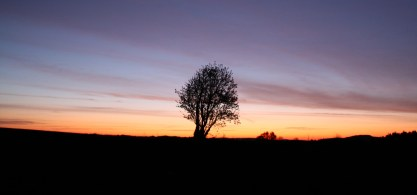 Východ slunce (Krásno | duben 2012)
