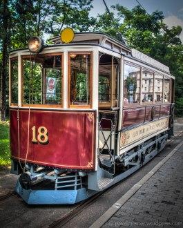 Křížíkovy tramvaje z roku 1899, historický vůz č. 18