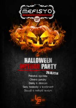 Halloween inferno party