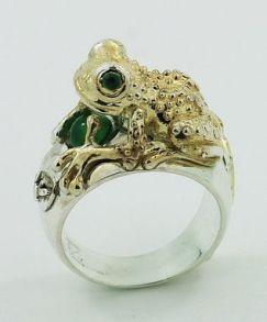 Frog Ring $490+ (5)