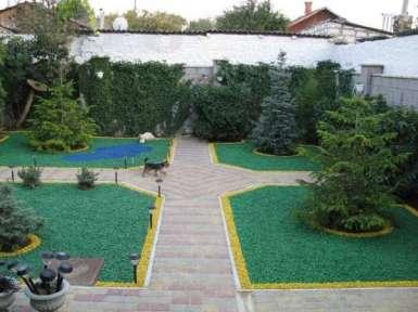 зелёный щебень, гранитный щебень, тротуарная плитка, керамзитный щебень