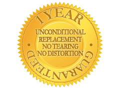 1 Year Unconditional Guarantee
