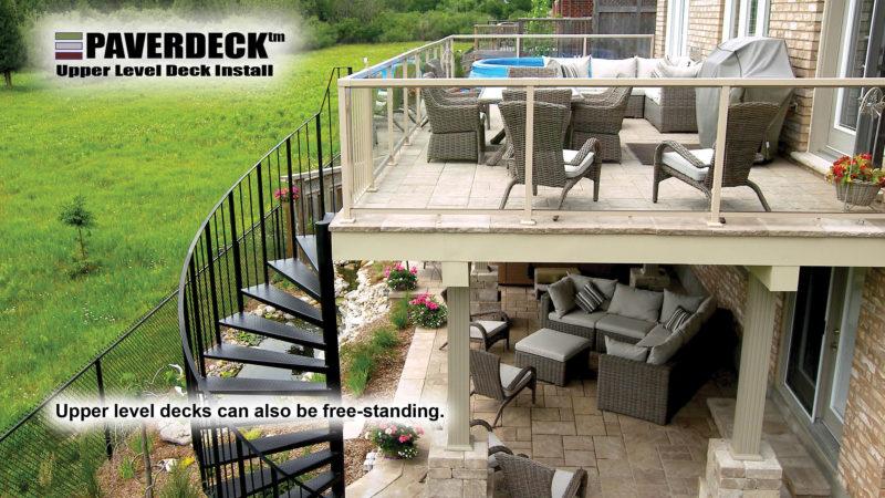 Upper Level Deck Paverdeck