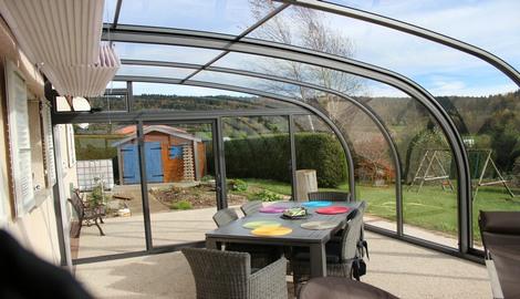 pavillon terrasse abri de terrasse coulissant