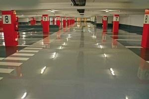 Pavimentos continuos para parkings