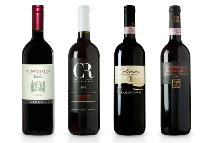 sagrantino-bottles