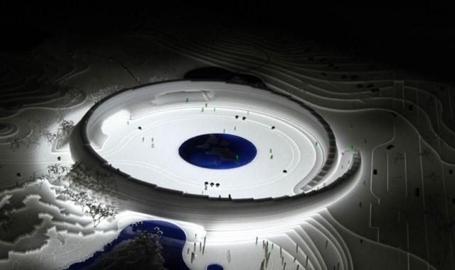 Iznenađuje svojom futurističkom formom, a zapravo je podređen prirodi i životinjama