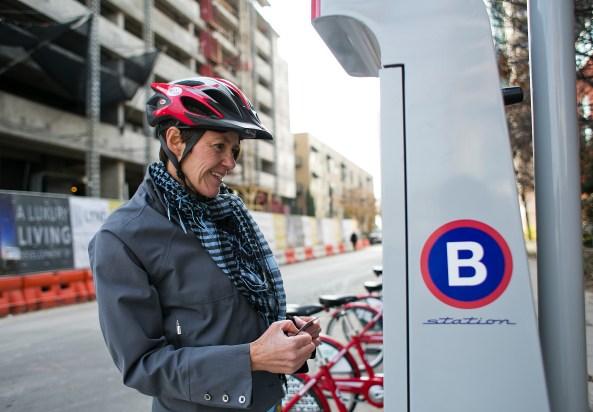 B-cycle, način aktivnog životnog stila u gusto naseljenim gradovima