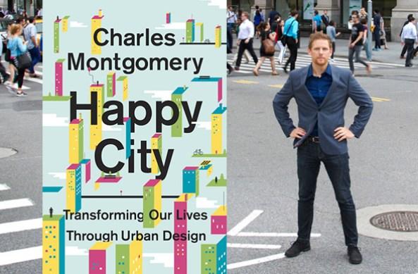 "Lepo štivo - knjiga ""Srećni grad' Čarlsa Montgomerija"