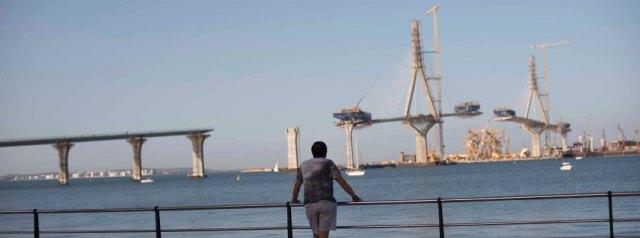 Most koji treba da poveže ostrvski i kopneni deo Kadiza (Foto: Laura Leon/ DER SPIEGEL)