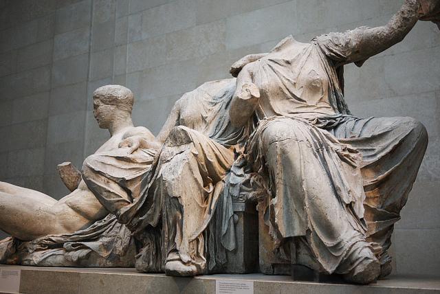 Скулптуре из грчког Партенона које су данас део уметничке збирке Британског музеја