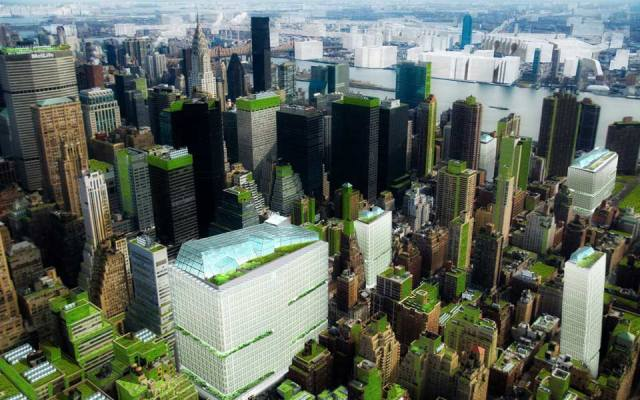 NYCS Vertikalna Farma Midtown Manhattan