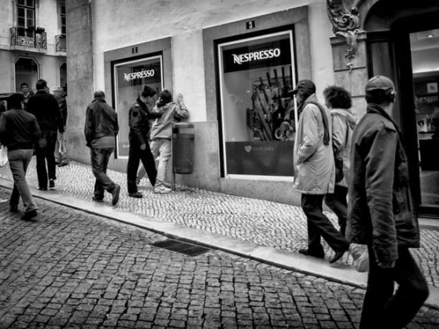 "3pm: Lisabon, Portugal, ""džeparoš uhvaćen!"". Foto: Carlos da Costa Branco"
