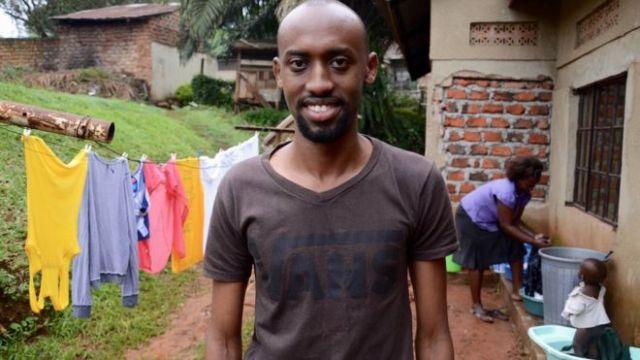 Nicholas Kamansi, kreator aplikacije za posao pranja prljavog veša. Foto: BBC