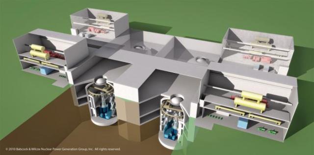Mali modularni reaktor (SMR). Ilustracija: Fortnightly.com