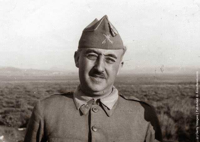 Španski vojni diktator, general Francisco Franco (1892–1975). (Hulton Archive/Getty Images). 27. Avgust 1937