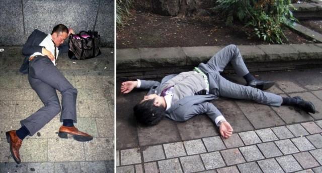 """Stručnjaci kažu da je 2015. hiljade zaposlenih umrlo od iscrpljenosti usled prekomernog rada. Japanci imaju i posebnu reč za """"overavanje"""" od posla: """"karoshi"""""""