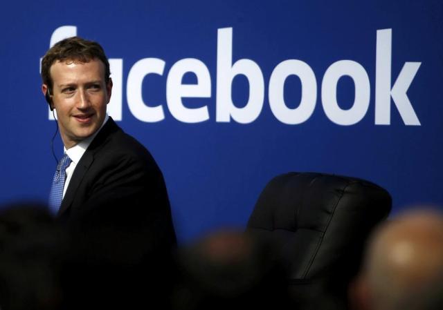 Facebook CEO Mark Zuckerberg na sceni sale mesnog centra u Menlo Parku, Kalifornija, 27. septembra 2015. [Photo / Agencies]