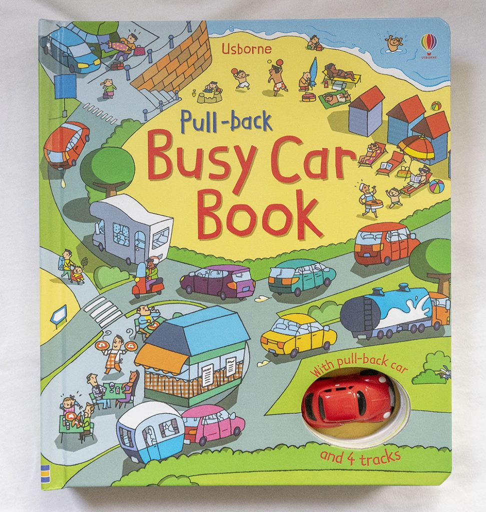 Children's books - Busy car book