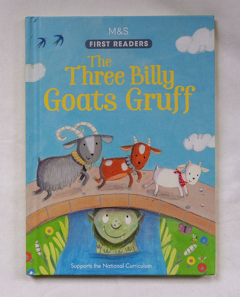 Children's books - Three billy goats gruff cover