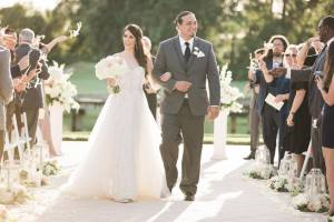 Enchanted wedding recessional