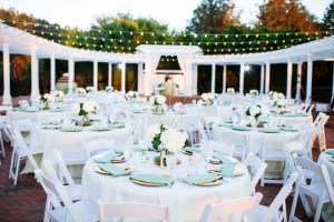 Romantic Wedding set up