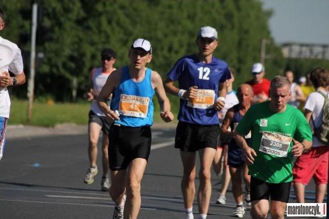 Łódź Maraton 2011 - pierwsze kilometry