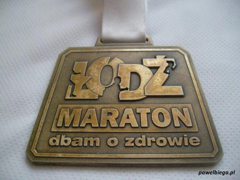 Łódź Maraton 2011 - medal