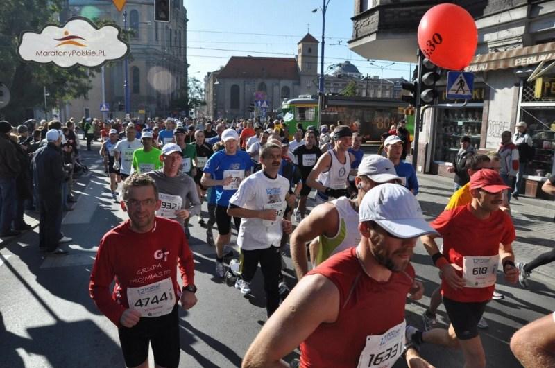12 Poznań Maraton - pierwsza pętla